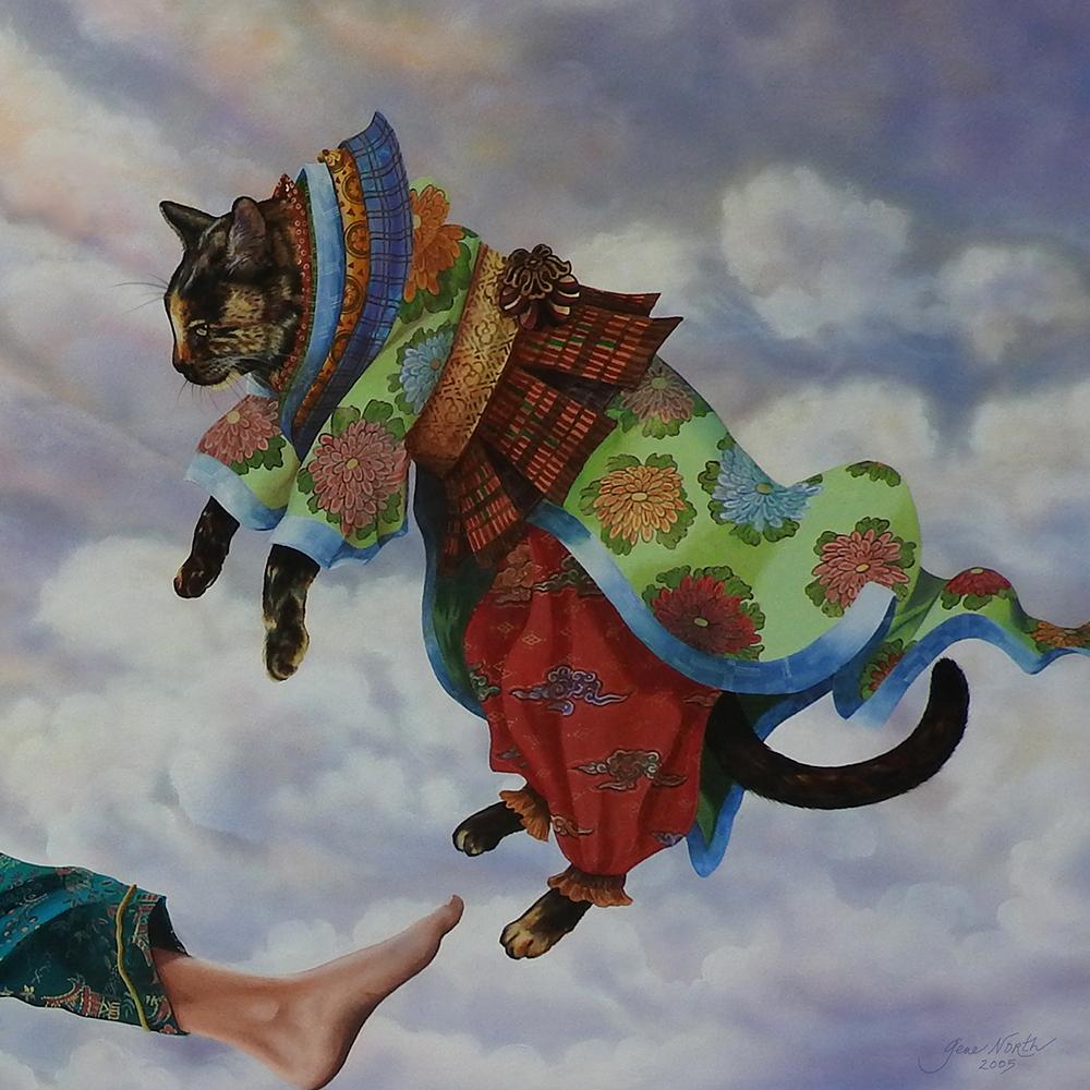 ©2001, Jacobi's Kitty detail
