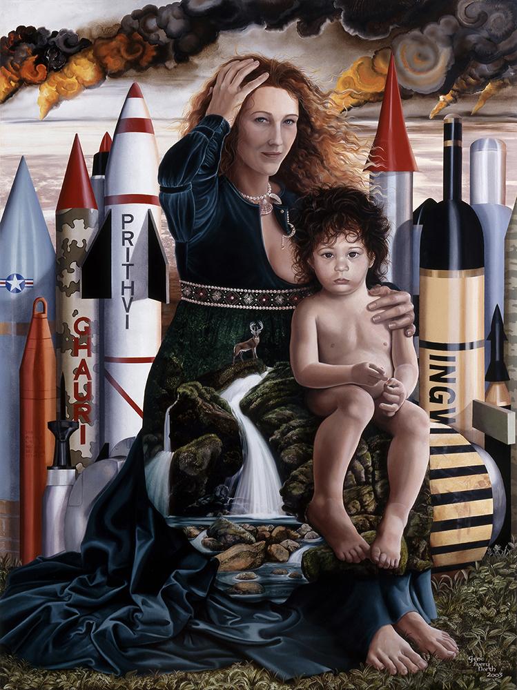 "©2003, Gaia, 30x40"", oil"