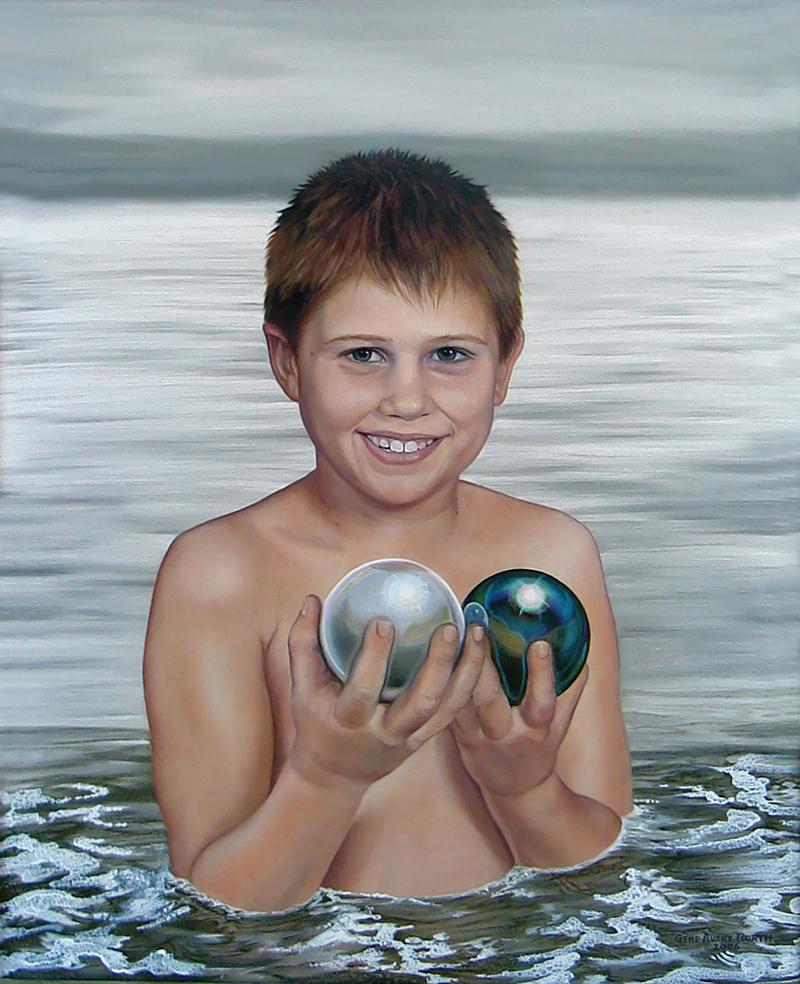 """©2006, Sean, 16x20"""", oil"""